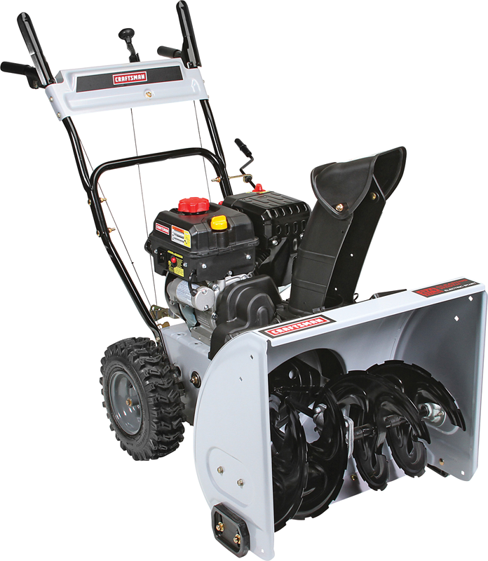 24-in. clearing path 208cc engine Two stage with electric start