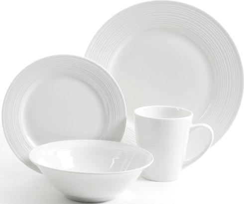 Gibson Home 16-pc. embossed dinnerware set