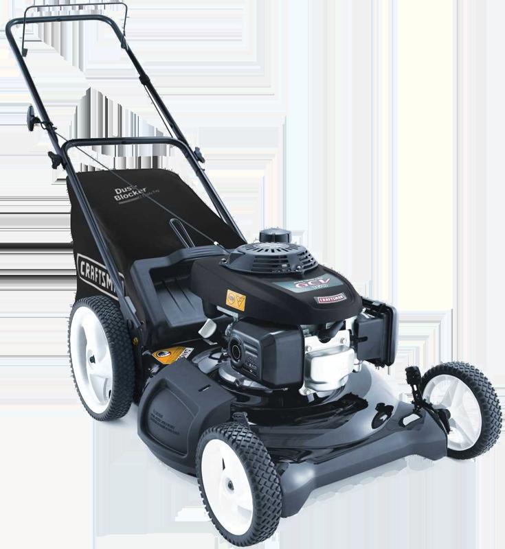 21-in. 160cc push mower