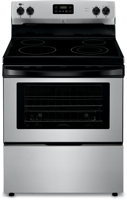 4.9 cu. ft. capacity electric with 9-in./6-in. 3000 W expandable and 9-in. 2500 W elements for more searing, boiling and large-format cooking power