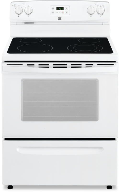 4.9- cu. ft. capacity electric with expandable elements and storage drawer