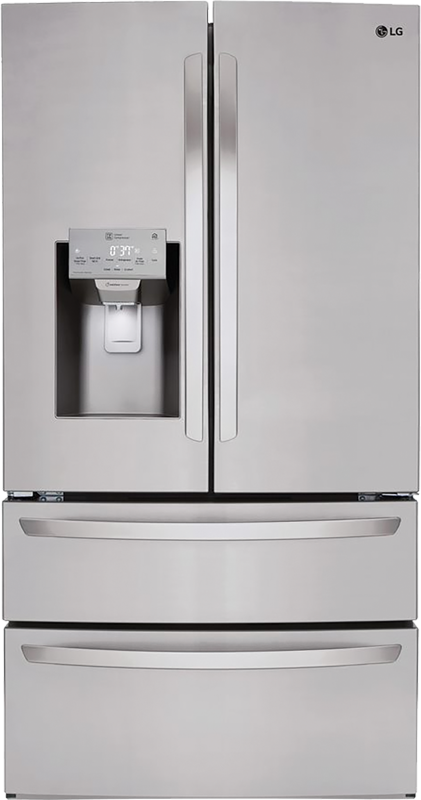 28-cu. ft. capacity with Smart Wi-Fi enables with Door Cooling+ and Slim SpacePlus® ice system