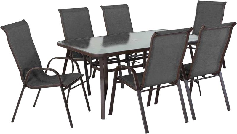 7-pc. Sling Patio set