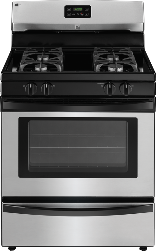 4.2 cu. ft. capacity gas with broil and serve drawer