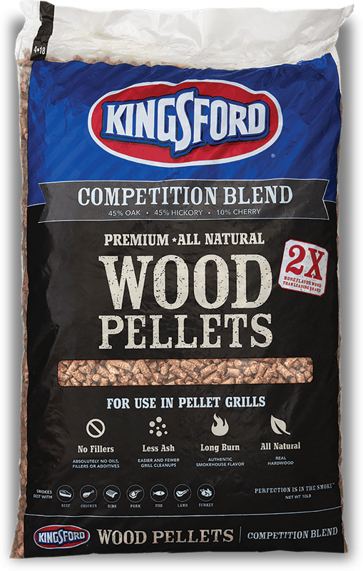20 lb. Competition Blend bagged pellets