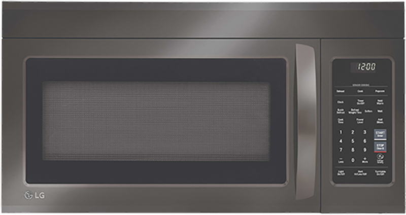 1.8 cu. ft. capacity with EasyClean Interior and sensor cookIng technology