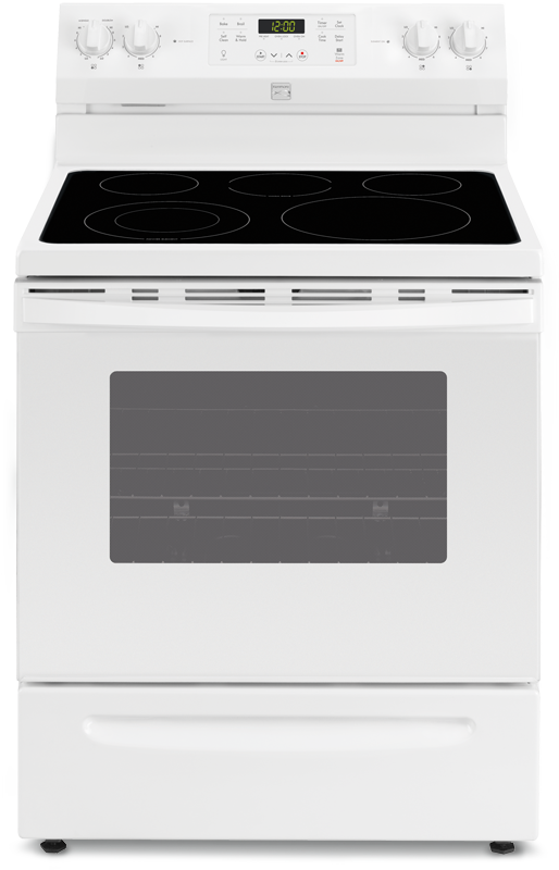 5.3 cu. ft. electric with self-clean and warm zone element