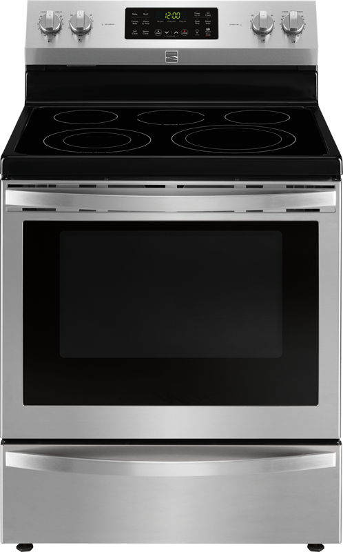 5.4 cu. ft. capacity electric with convection