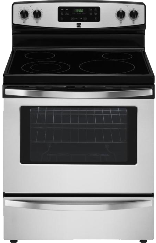 Kenmore Electric range with 9-in./6-in. dual element