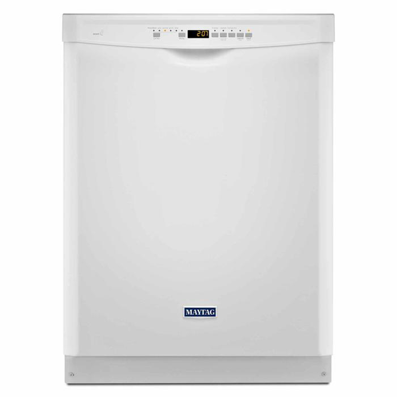 Maytag 24-in. built-in dishwasher with PowerBlast™ cycle