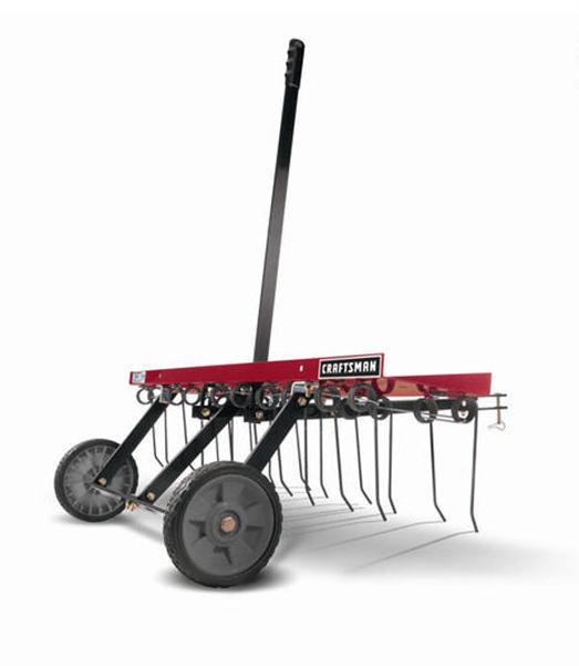 Craftsman&reg 40-in. rear mount dethatcher