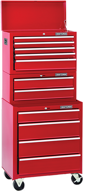 11-drawer tool storage combo