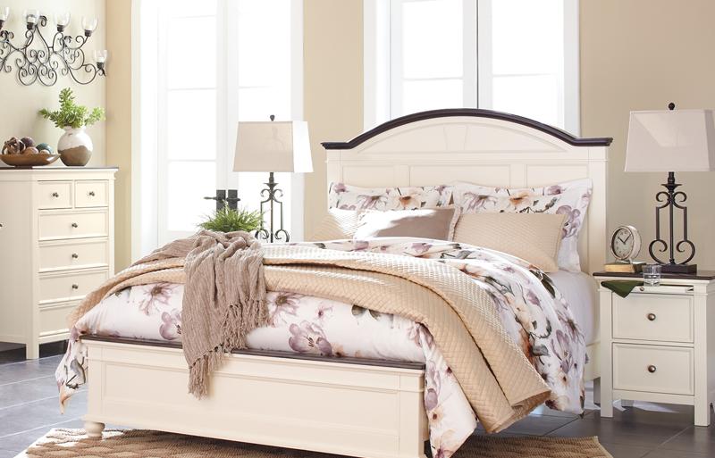 Woodanville queen bed
