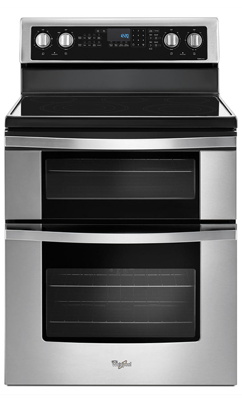 6.7-cu. ft. electric range with Steam Clean