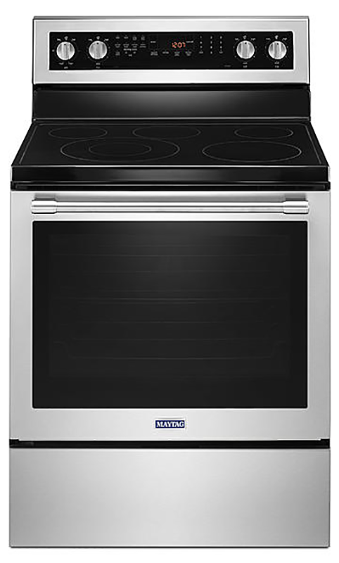 6.4 cu. ft. electric range with True Convection
