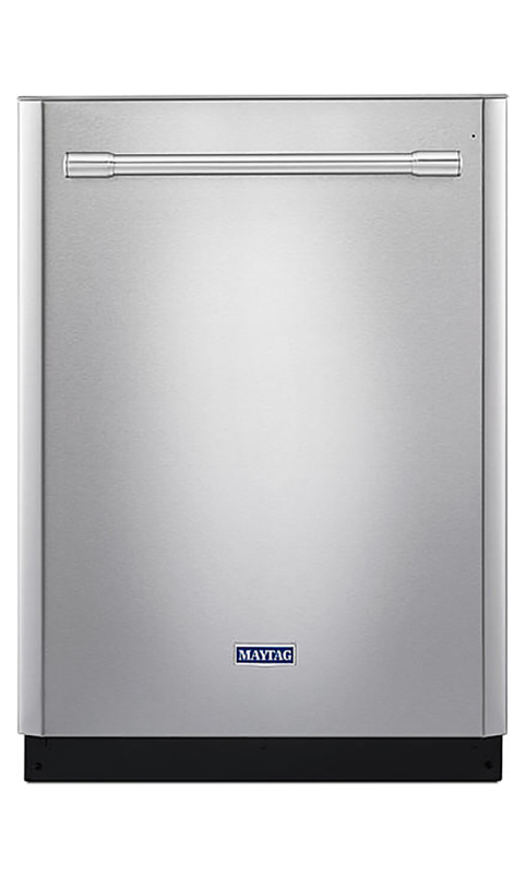 Top control dishwasher with Fingerprint Resistant Stainless Steel Exterior