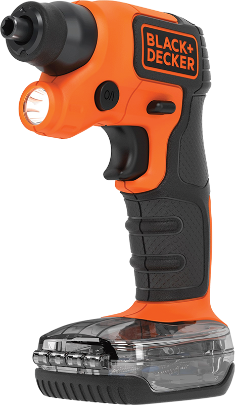 Black+Decker 4-volt cordless screwdriver