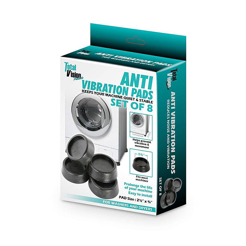 Washer dryer anti-vibration pads