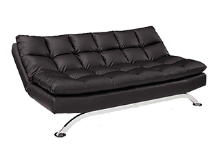 Delray Convertible Sofa Bed - Brown
