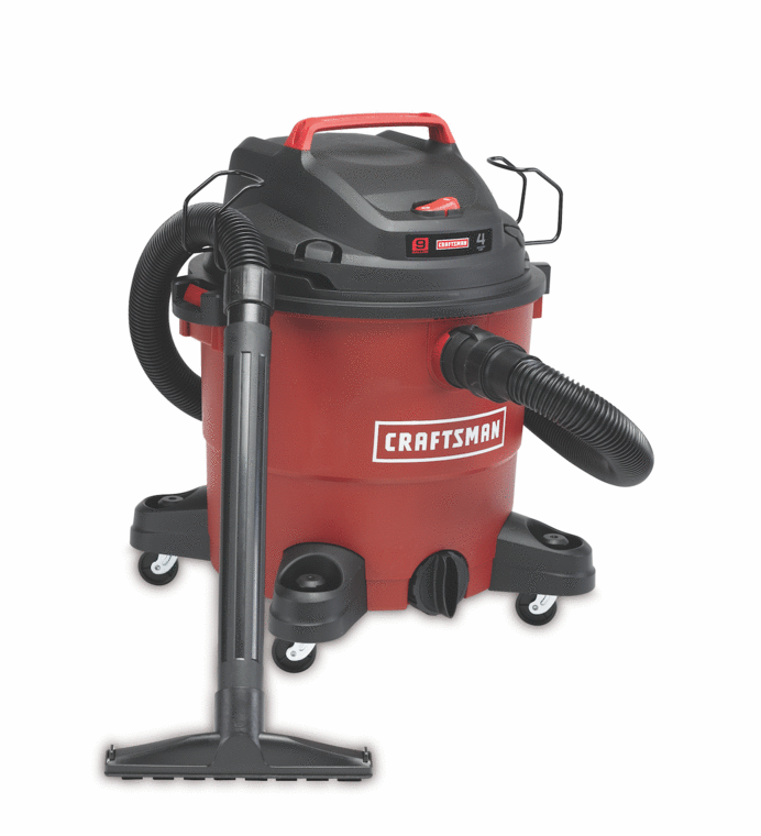 Craftsman 6-gallon 3 HP wet/dry vac