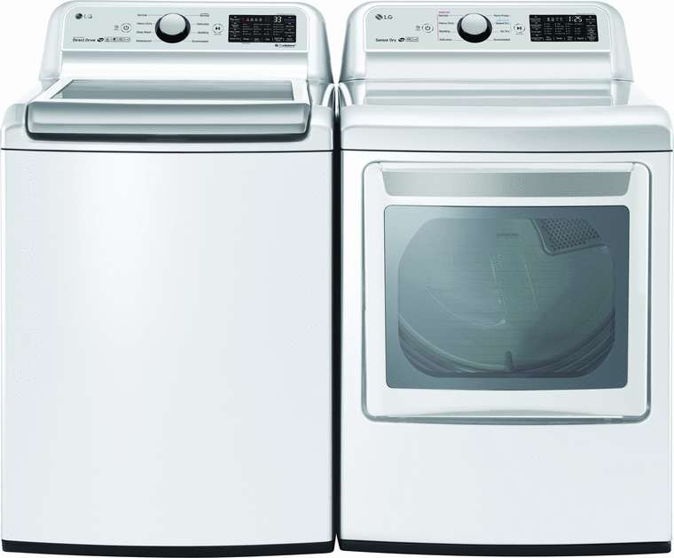 LG 5.0 cu. ft. capacity washer with TurboWash3 D™ and 6 Motion™ wash technologies and EasyDispense™ system