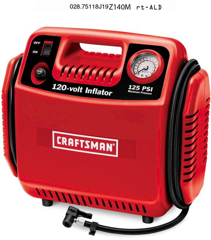 Craftsman 120-volt inflator