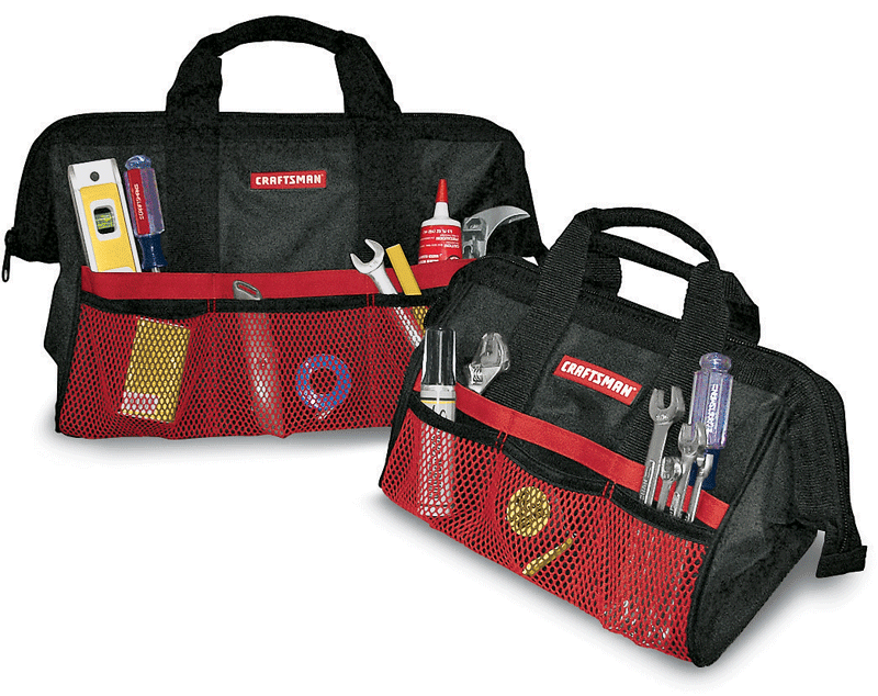 Craftsman 13-in. and 18-in. tool bag set