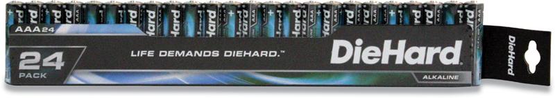 DieHard 24-pk. AAA alkaline batteries