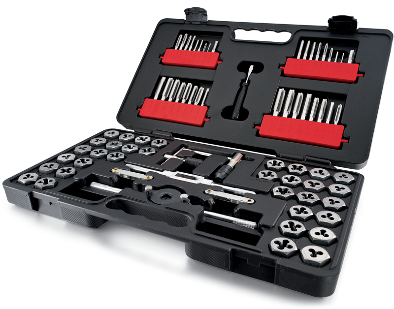 Craftsman 75-pc. combination Tap & Die carbon steel set