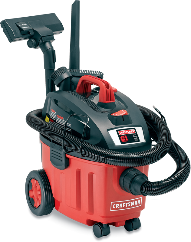 Craftsman 4-gal.wet/dry vac