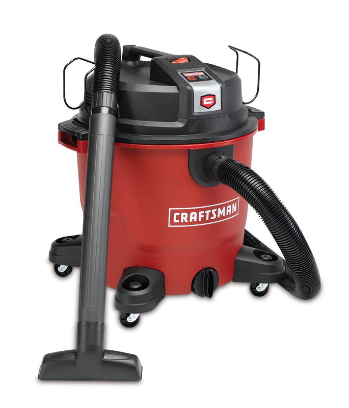 Craftsman XSP 16-gallon 6.5 peak HP wet/dry vac