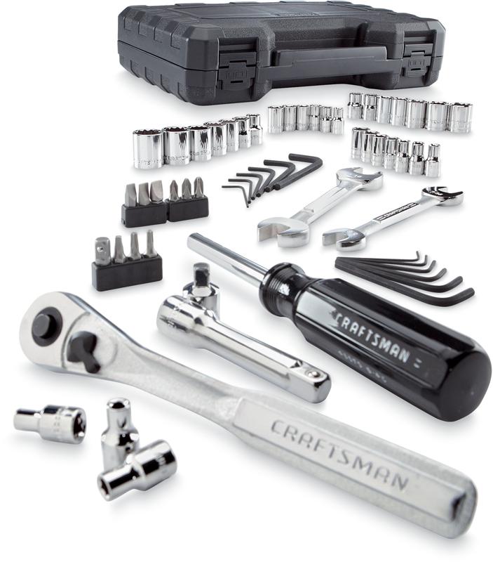 Craftsman 58-pc.mechanics tool set