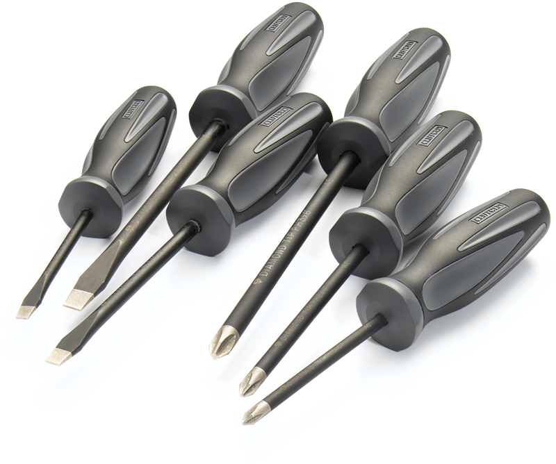 Craftsman Extreme Grip™ 6-pc. diamond tipped screwdriver set