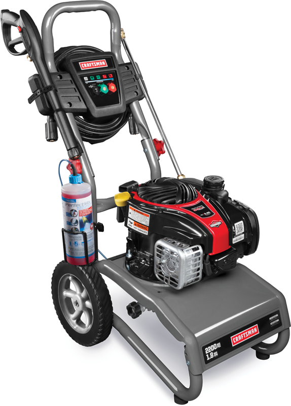 Craftsman 2200 PSI 1.9 GPM Briggs & Stratton powered pressure washer