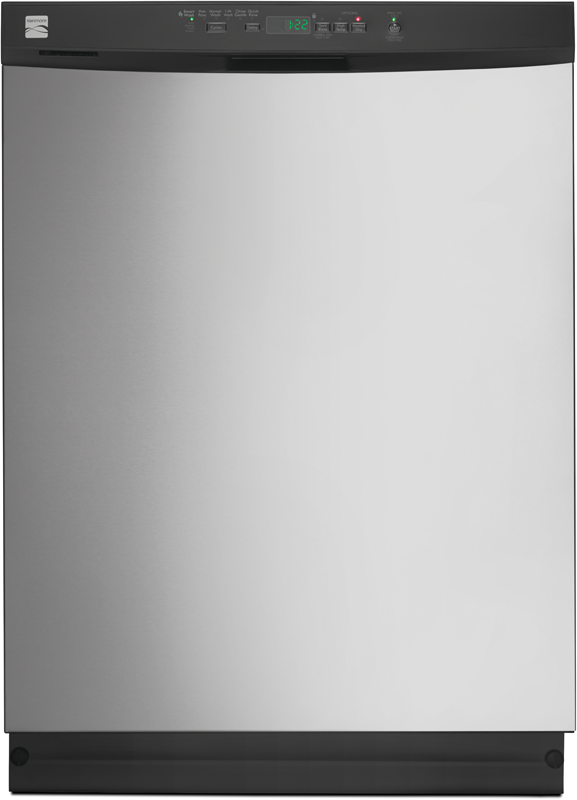 24-in. built-in dishwasher with PowerWave™ Spray arm