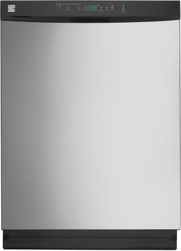 24-in. dishwasher with PowerWave™ Spray arm