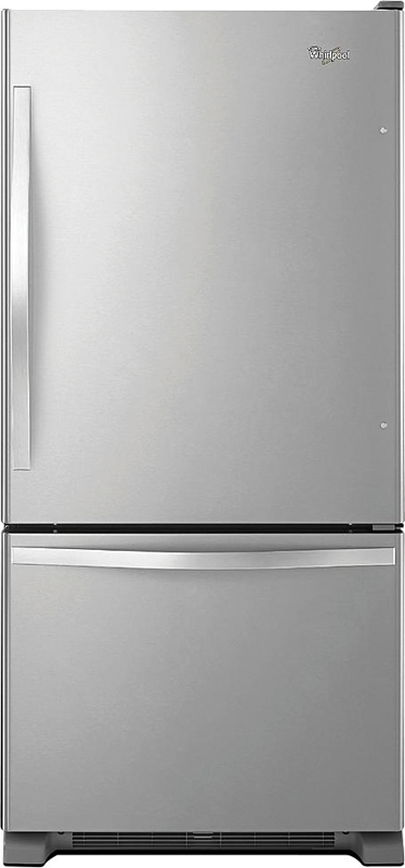 Whirlpool 1-cu. ft. capacity with Spillproof glass shelves, FreshFlow and Accu-Chill