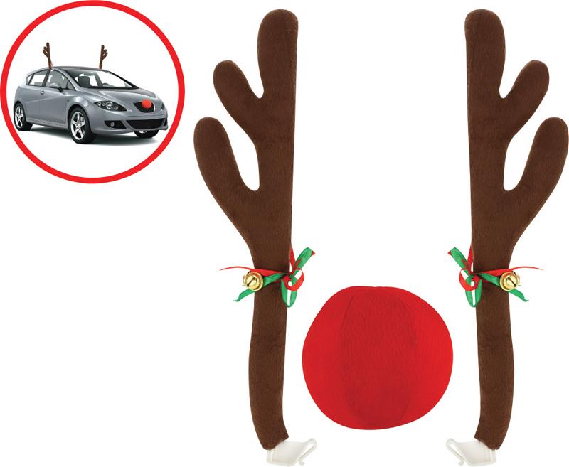 Reindeer car costume