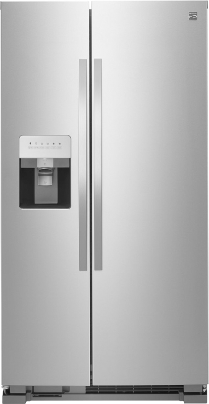 Kenmore 25-cu. ft. capacity refrigerator with humidity controlled crisper and gallon-sized door bins