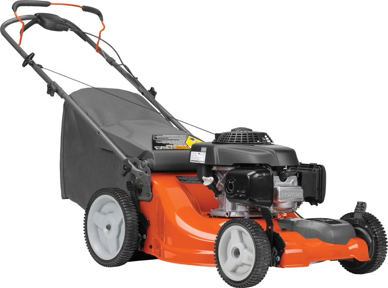 Husqvarna 160 Cc Honda GCV engine Front wheel propelled High rear wheels Discharge, mulch and bag