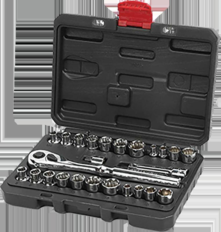 Craftsman 25-pc. 3/8-in. socket wrench set