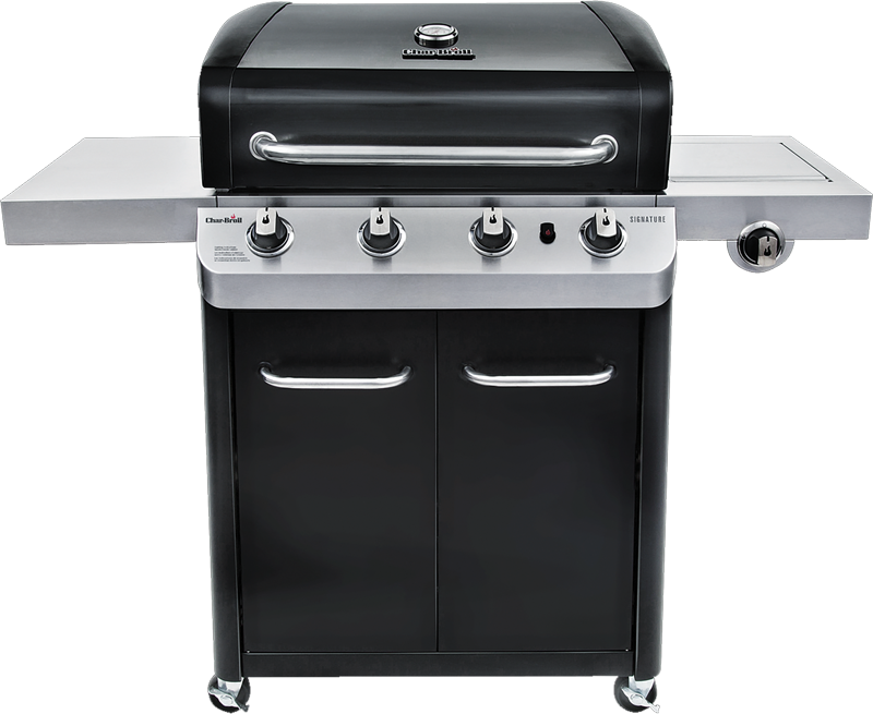 Signature 4-burner gas grill
