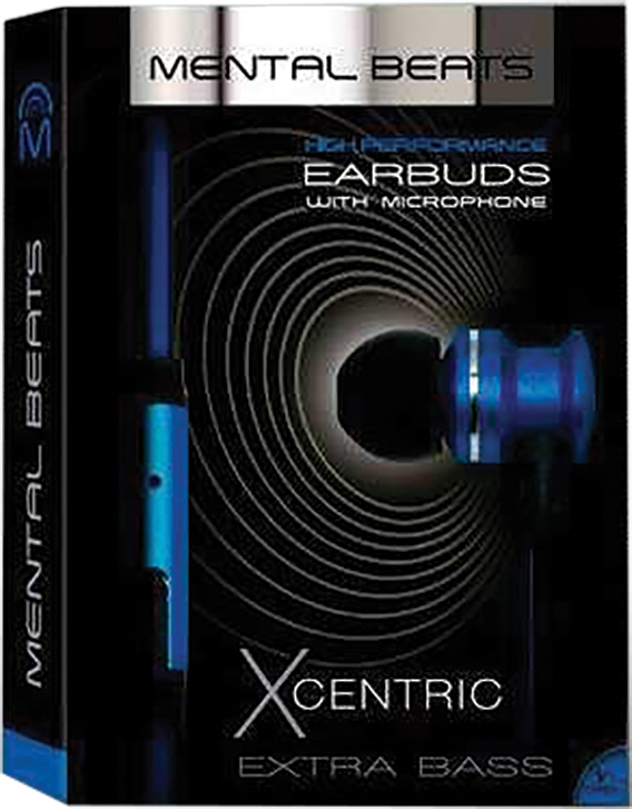 Mental Beats Xcentric ear buds
