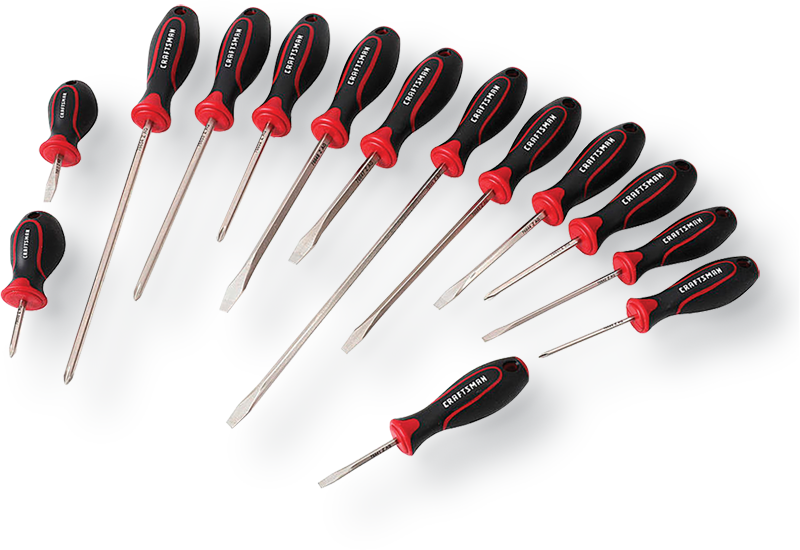 Craftsman 14-pc. contour handle screwdriver set