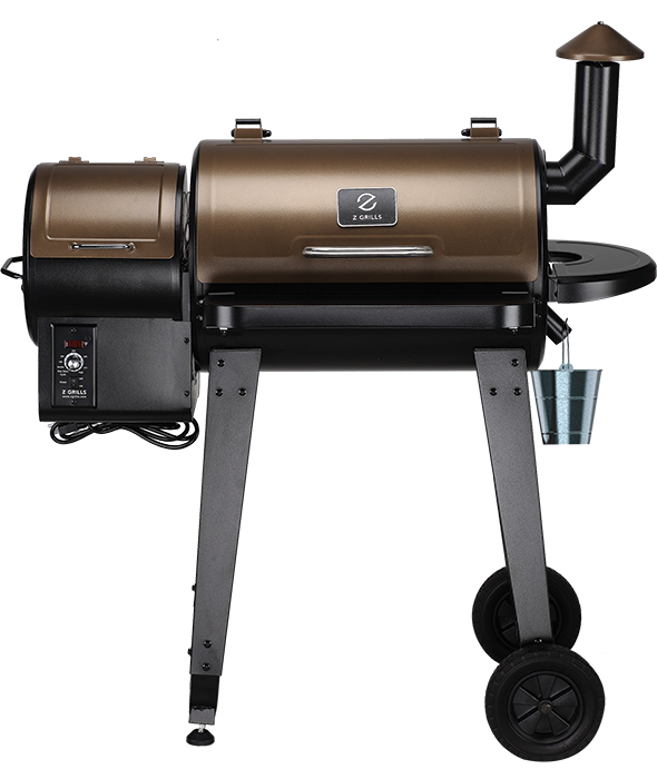 Z-Grill smoker with cover