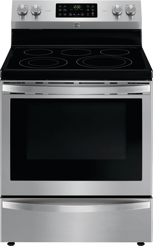 Kenmore 5.4 cu. ft. electric range with convection