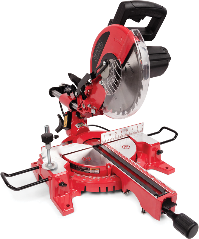 General International 10-in. sliding compound miter saw