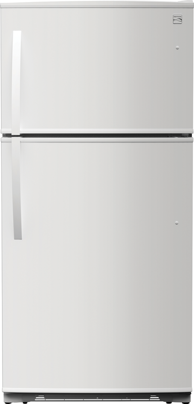 Kenmore 18 cu. ft. capacity refrigerator with humidity controlled crispers and gallon-sized door bins