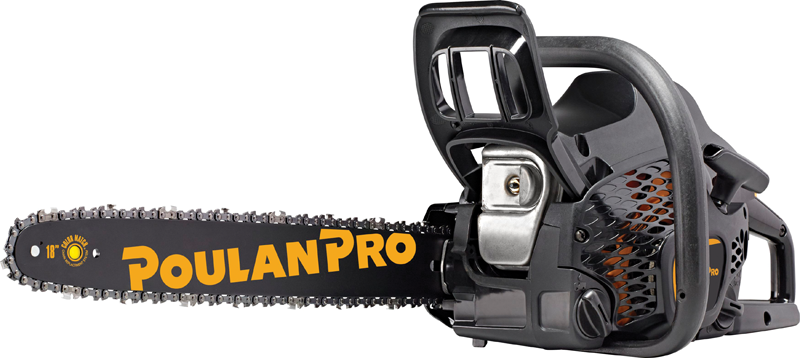 Poulan Pro 42 Cc 18-in gas chainsaw