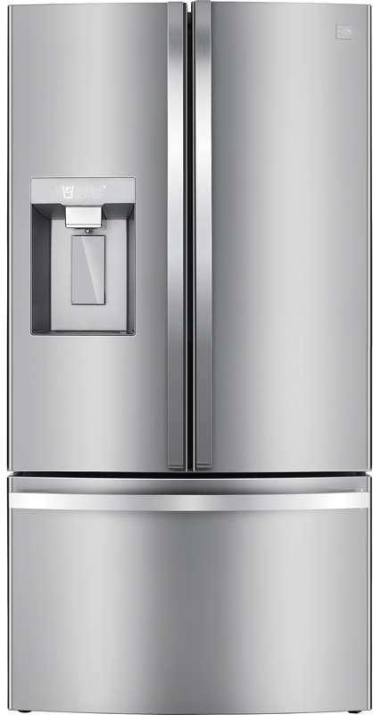 Kenmore Elite 30.6-cu. ft. capacity refrigerator with full width pantry drawer, slide out shelf and humidity controlled crisper drawers